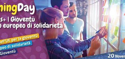 TRAINING DAY ERASMUS+ | GIOVENTÙ E CORPO EUROPEO DI SOLIDARIETÀ, 20 NOVEMBRE