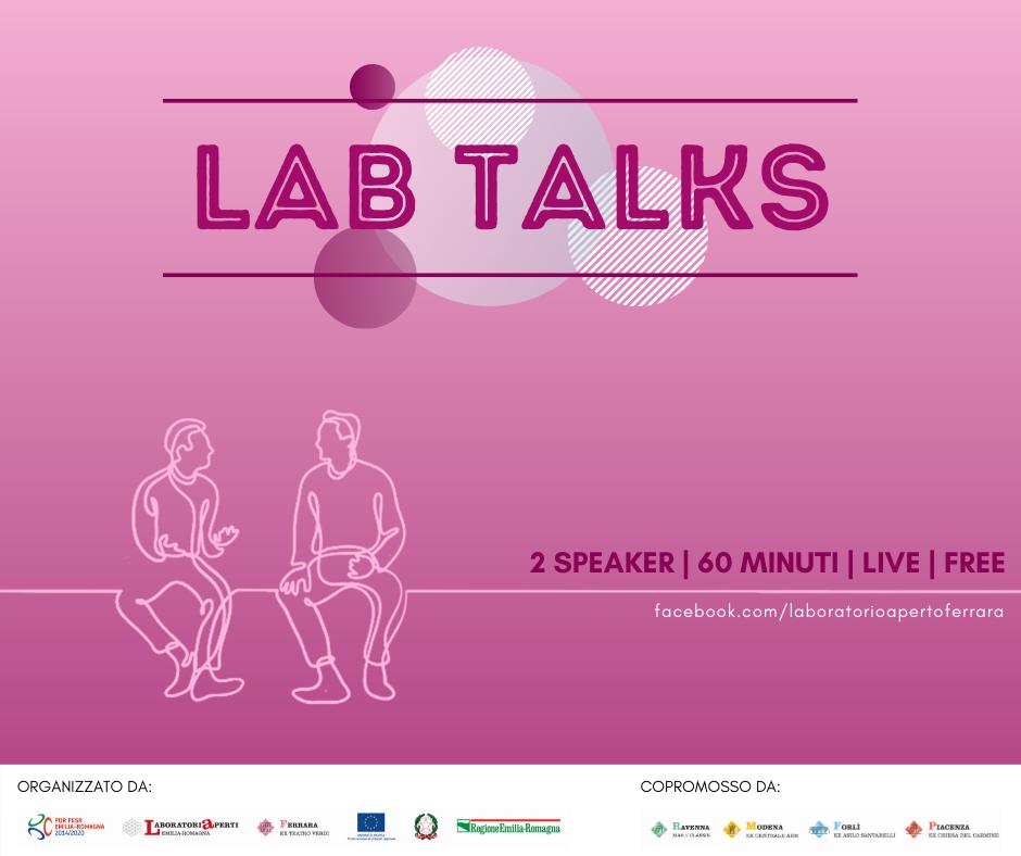 """1 Aprile – Lab Talk """"Sviluppare il proprio talento"""""""