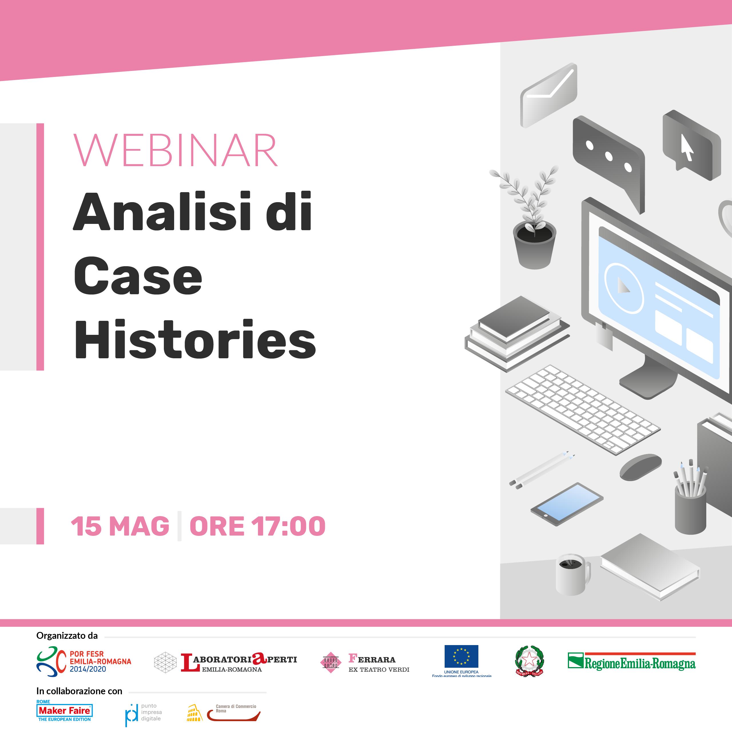WEBINAR: AR e VR: analisi di case histories | 15 MAGGIO H 17:00