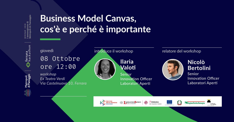8 ottobre – Incontro sul Business Model Canvas