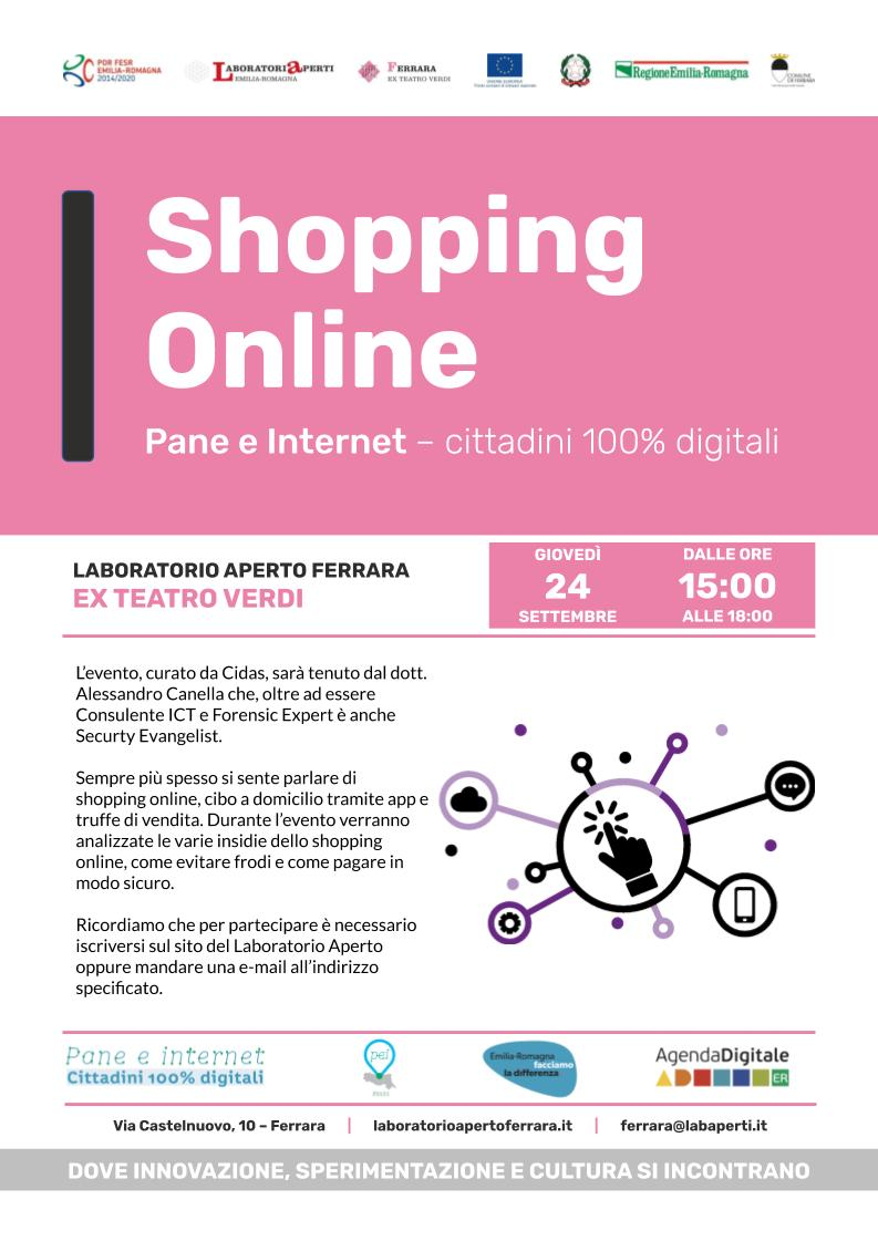 "Evento Pane e Internet ""Shopping Online"""
