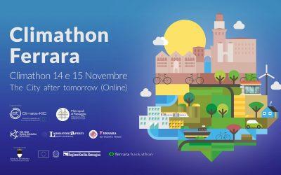 Climathon Ferrara – 14 e 15 novembre